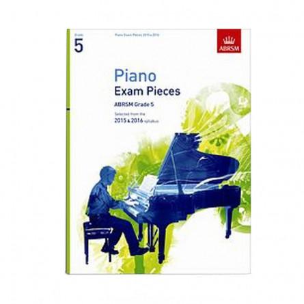 AB Piano Exam Pieces 2015 to 2016 Grade 5