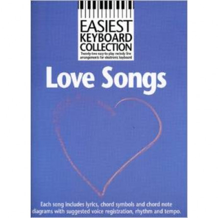 Love Songs Easiest Keyboard Collection MLC