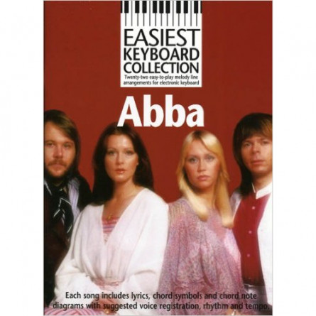 ABBA Easiest Keyboard Collection MLC