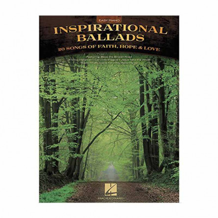 Inspirational Ballads Easy Piano