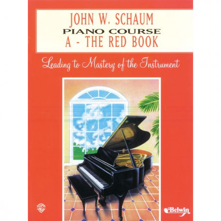 John W Schaum Popular Piano Pieces  A  The Red Book