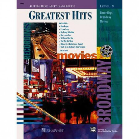 Alfreds Basic Adult Piano Course Greatest Hits  3