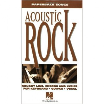 Acoustic Rock Paperback Songs
