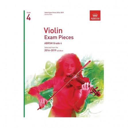 AB Violin Examination Pieces 2016 to 2019  Grade 4