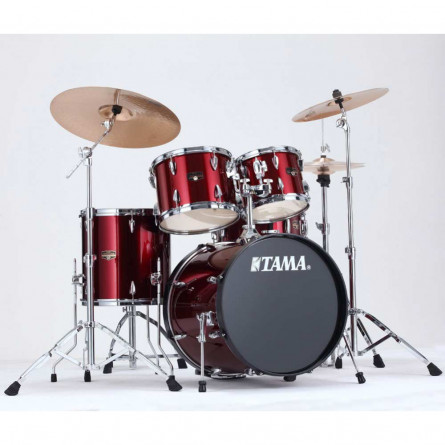 Tama New Imperialstar IP50H6 VTR 5 Pcs Drum Set Vintage Red