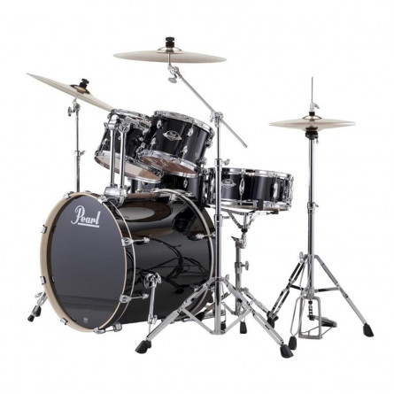 Pearl EXX725SP C Drum Set 5 Pcs EXX Hybrid Shell Pack Jet Black