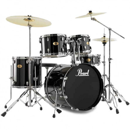 Pearl Target TGXC625S Drum Set Hybrid 5 Pcs with Hardware Jet Black