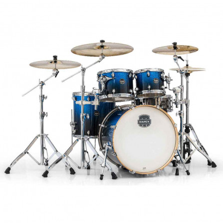 Mapex AR529SBI Drum Set Armory Series 5 pcs Hybrid SHELL PACK Photon Blue