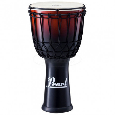 Pearl PJF-320RX Djembe Ez Tune Rope 12 Inches Cranberry Fade