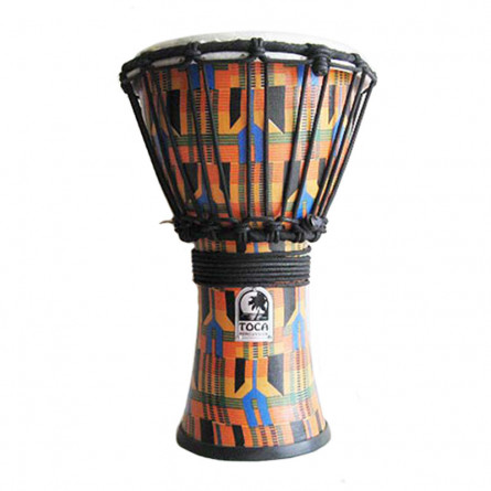 Toca SFDJ-7F Djembe Free Style 7 Inches Kente