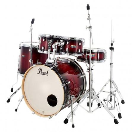 Pearl Drum Set DMP92 5 Pcs Hybrid Shell Pack Gloss Deep Red Burst