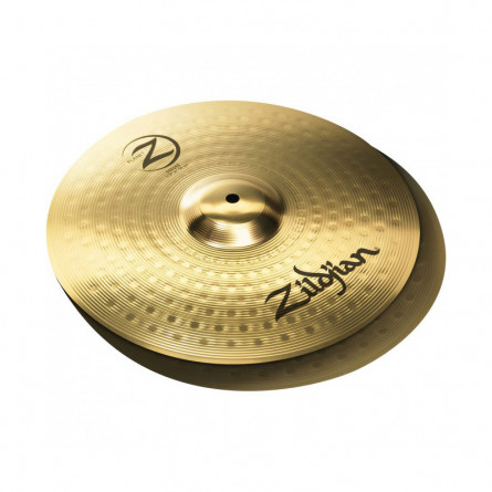 Zildjian PLZ14PR Cymbals, Planet Z 14(35.56 cm) Hi-hat (Pair)