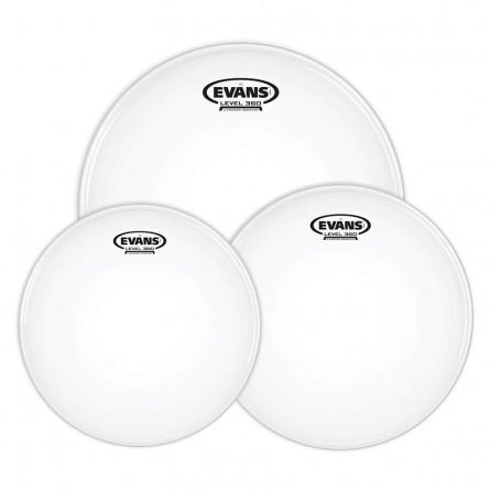 Evans ETP-G2CLR-S G2 Clear Standard Drumhead Tom Pack