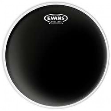 Evans TT12CHR 12 Inches Drumhead  Black Chrome