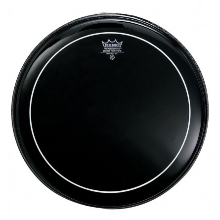 Remo ES0616PS Ebony Pinstripe Drum Head 16 Inches