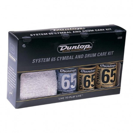 Dunlop 6400 System 65 Cymbal and Drum Care Kit