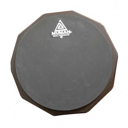 Muman Practice Pad 12 Inches Grey