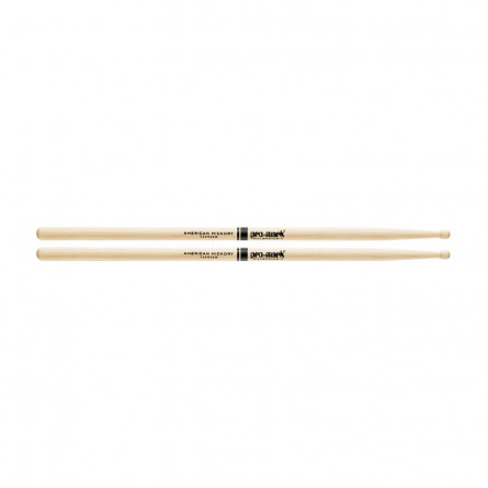 Promark TXPR5AW Drumstick Hickory 5A Pro Round