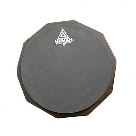 Muman Practice Pad 8 Inches Grey