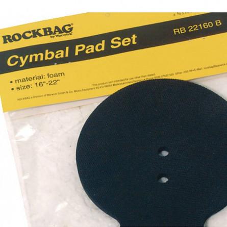 RockBag RB 22160 B 16-22 Cymbal Pad Black