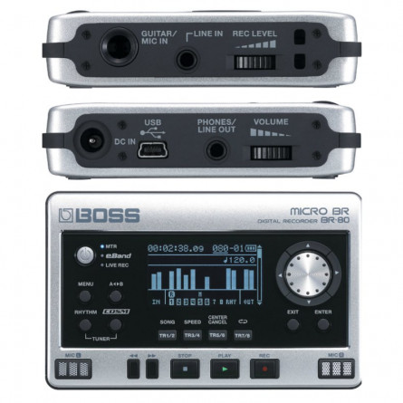 Roland Micro BR 80 Portable Digital Recorder