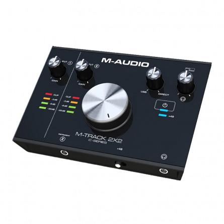 M Audio M Track 2x2 USB Audio Interface
