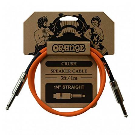 Orange CA040 Crush Speaker Cable Jack to Jack 3 Feet