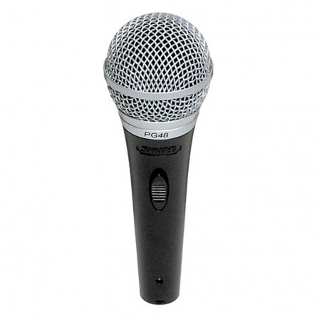 Shure PG48 LC Vocal Dynamic Microphone