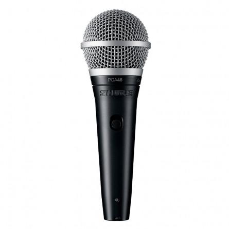 Shure PGA48 LC Cardioid Dynamic Vocal Microphone