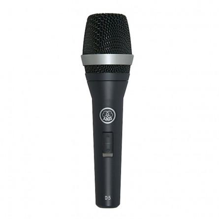 AKG D5S Supercardioid Dynamic Vocal Microphone