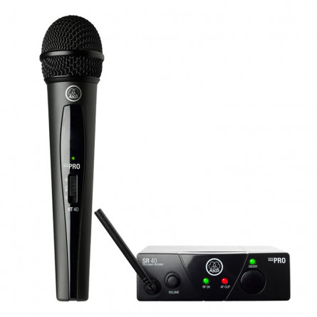 AKG WMS 40 Wireless Mini Single Vocal Microphone Set