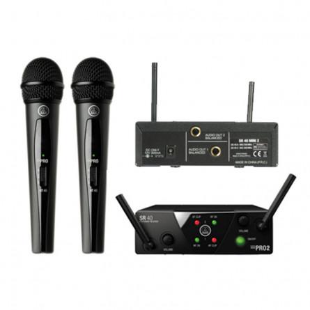 AKG WMS 40 Mini 2 Vocal Wireless Microphone Set