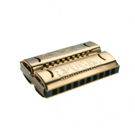 Hohner Double Puck CG M55333 Harmonica