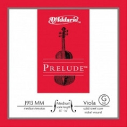 D'Addario J913 MM Viola Strings Prelude Medium  G