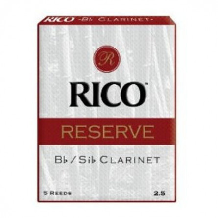 Rico RCR0535 Reserve Bb Clarinet Reed 5 Pcs Pack 3.5