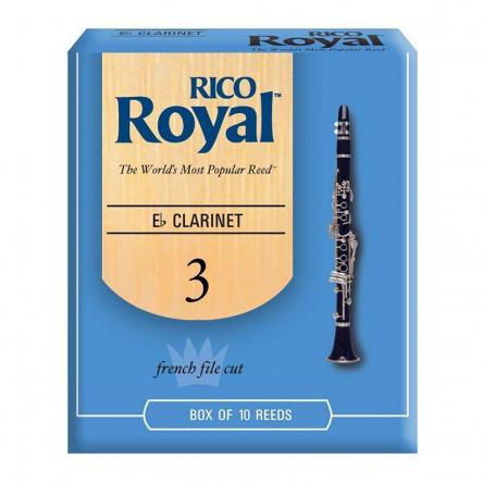 Rico RBB1025 Royal Eb Clarinet Reeds 2.5
