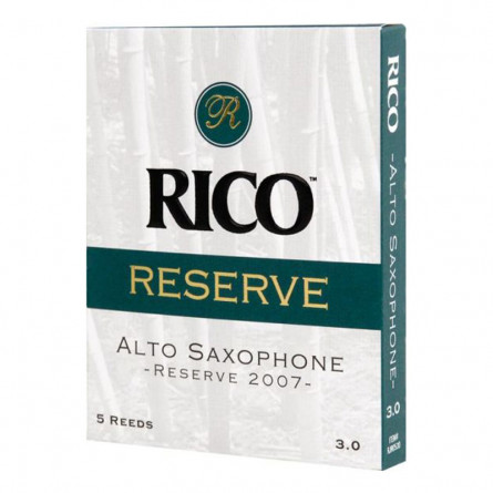 Rico RJR0530 Alto Sax Reed Reserve 5 Pcs Pack 3
