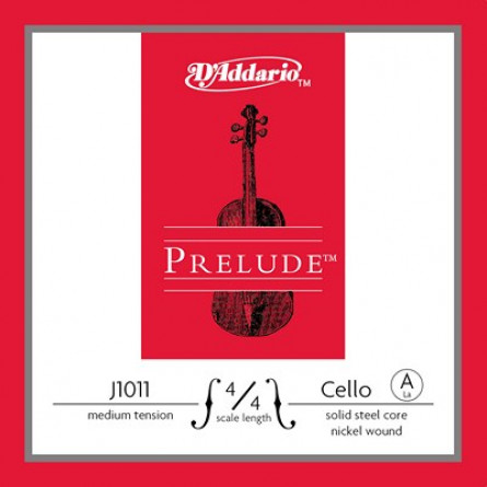 D'Addario J1011 4 4M Cello Strings Prelude A Medium