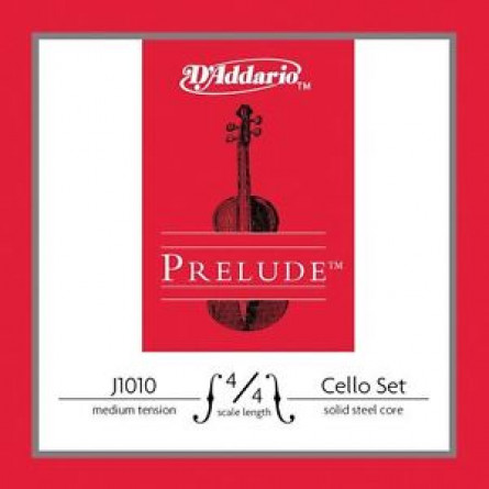 D'Addario J1010 44M Cello Strings Prelude Medium  Set