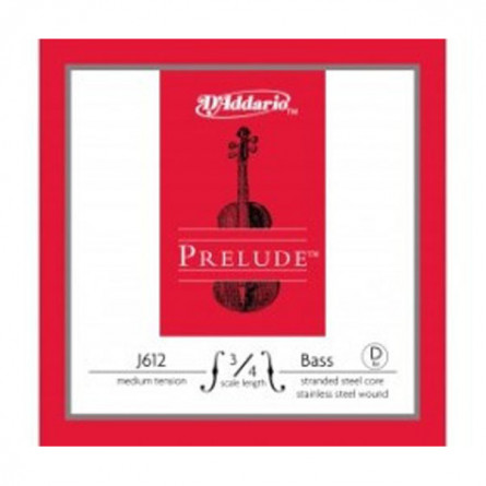 D'Addario D J612 3 4M Double Bass Strings Prelude Medium