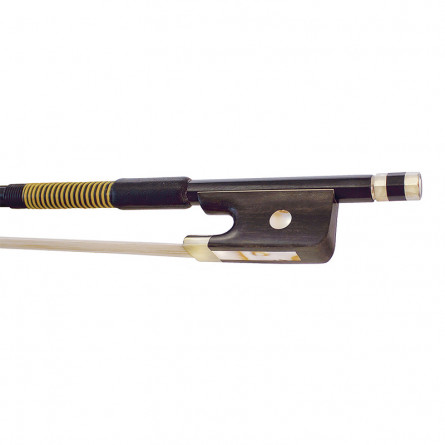 Hidersine 5048A Cello Bow Carbon Fibre  Full Size