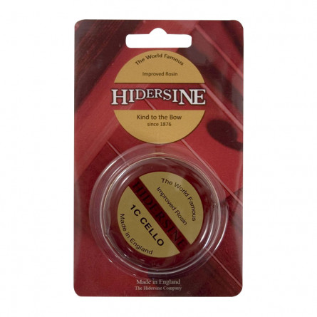 Hidersine 3C Cello Rosin Series 3 Medium Size Dark Amber