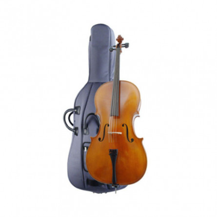 Hofner H4 2 C4 Cello 4/4 Oufit Orchestra Line with Light Weight Case
