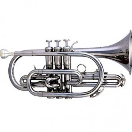 Rivertone MK0011 Wind Instrument Cornet Bb Lacquered