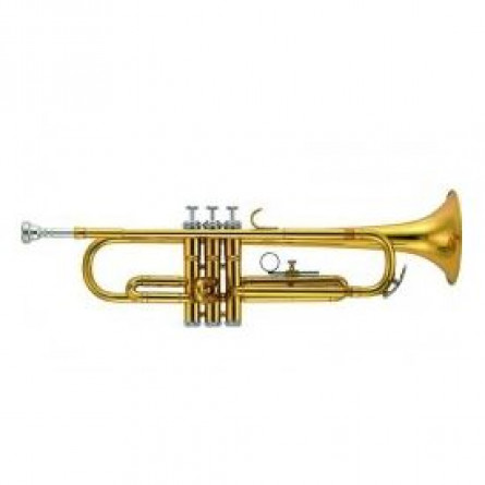 Rivertone MK0033B Wind Instrument Trumpet Bb Nickel Plated