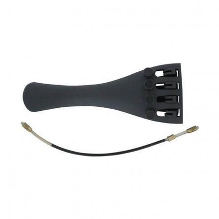 Granada Violin Tailpiece Carbon Fiber Full Size