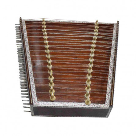 Pro Santoor, with Hard Case and Stick Pair