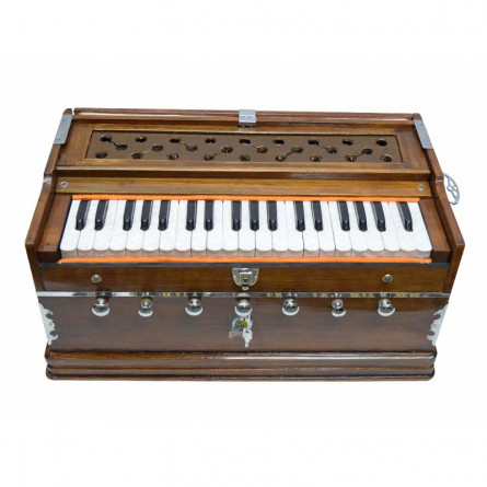 Khayal Harmonium, 39 Keys, Horizontal Reed, with Bag