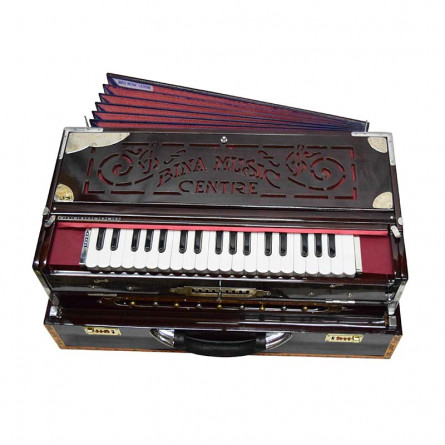 Khayal Scale Changer Harmonium, 36 Keys, With Bag