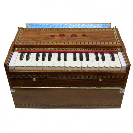 Khayal Harmonium, 32 Keys, Vertical, with Bag